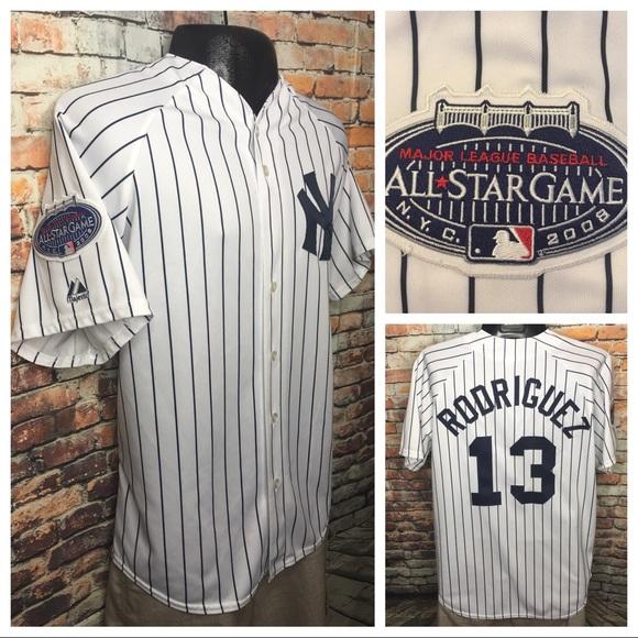 825420f5b0f Majestic Other - Alex Rodreguiez 2008 All Star Yankees Jersey XL